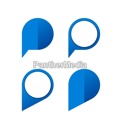 pin icon sammlung