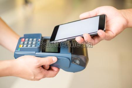 kundenbetreuung per handy mit nfc technologie