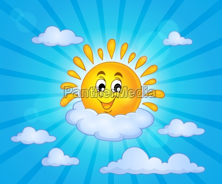 cheerful sun theme image 5