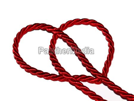 rote kordelschleife
