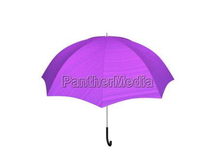 pinkfarbener regenschirm feigestellt