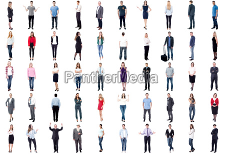 collage of people with different poses