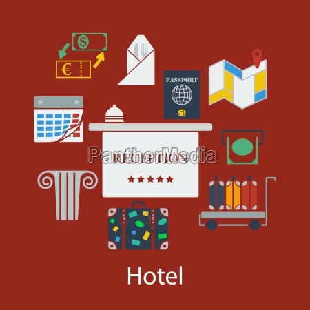 hotel flaches design