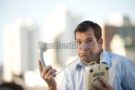 telefon telephon maenner mann makro grossaufnahme