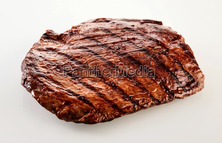 thick succulent portion of barbecued flank