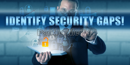 manager touching identify security gaps