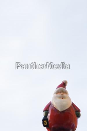 stilleben nostalgie weihnachtsmann frankreich outdoor freiluft