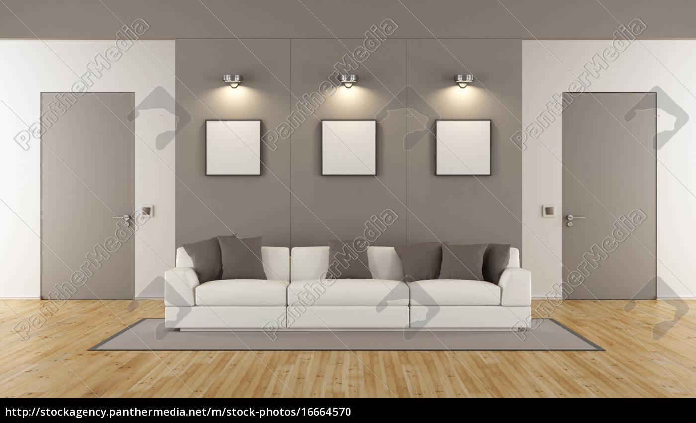 Stock Bild 16664570 Minimalistisches Wohnzimmer