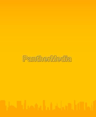 orange city hintergrund