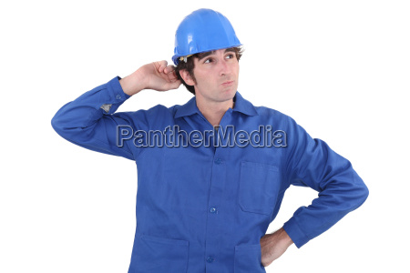 confused plumber doesnt know what to