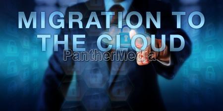 consultant pressing migration in die cloud
