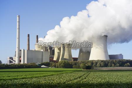 deutschland nordrhein westfalen grevenbroich neurath kraftwerk