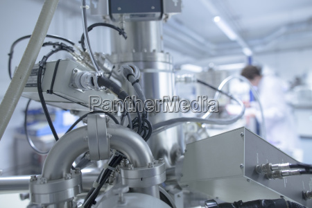 spectrometer in a technical lab close