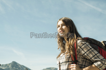 austria tyrol tannheimer tal smiling young