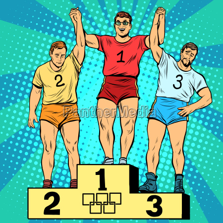 sport first second and third place