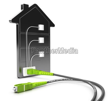 illustration verbindung anschluss konnektivitaet schnittstelle anbindung