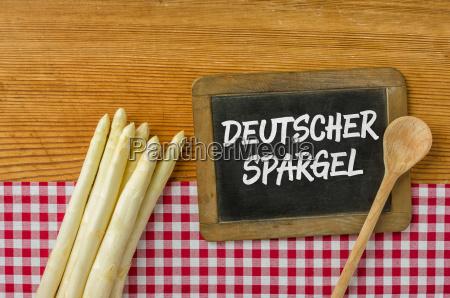german asparagus