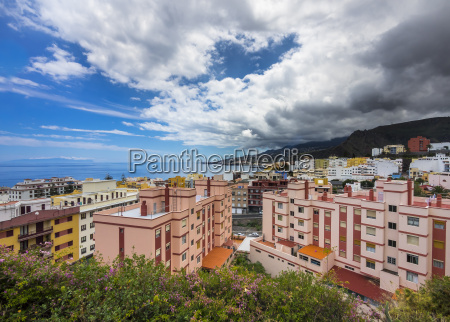 spain canary islands view to santa