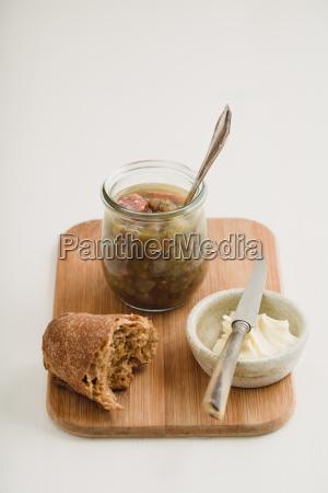 linsensuppe mit hackfleischwurst