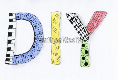 schreiben schreibend schreibt symbolisch farbe bunt