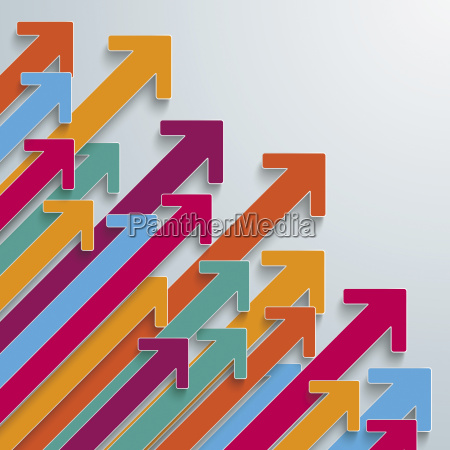 colorful arrows vector graphics