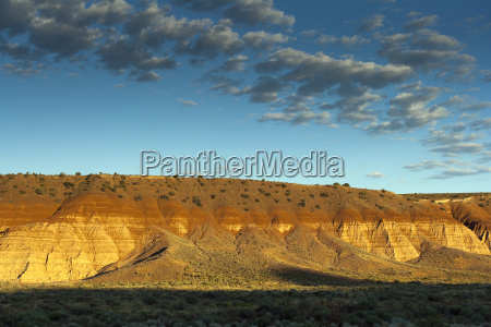 usa nevada landscape in cathedral gorge