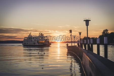 germany meersburg ferry between constance and
