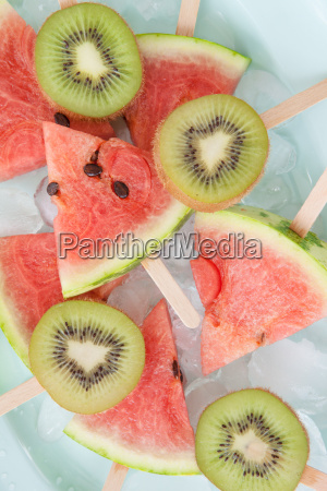 colorful fruit lolly
