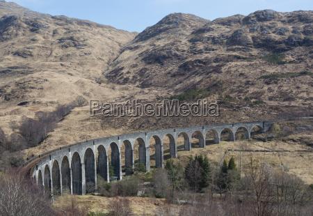 vereinigtes koenigreich schottland schottisches hochland glenfinnan