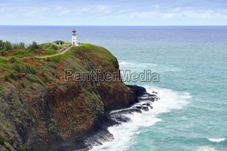 usa hawaii kilauea leuchtturm am kilauea