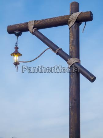lantern at the gallows