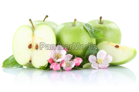 apple apples fruit fruit green cut