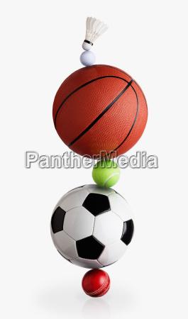 sport baelle balancieren