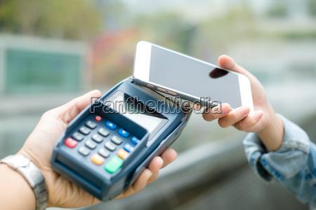kunden bezahlen mit smartphone