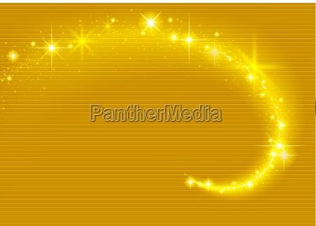 goldfunkelnde stream effekt