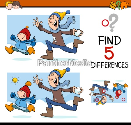 differences activity task