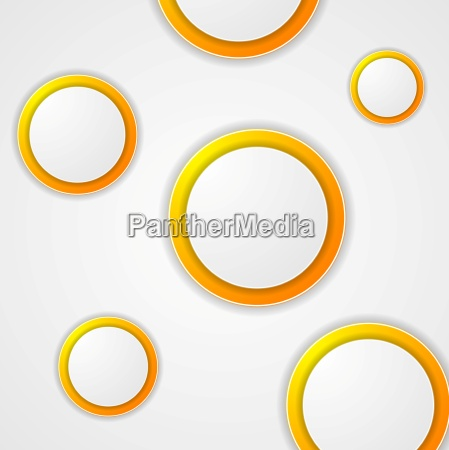 abstract modern circles background