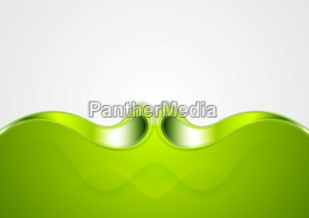 abstract smooth bright wave background