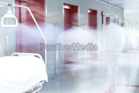 flur lift rot arzt krankenhaus