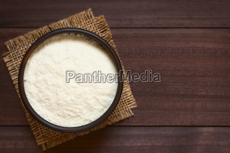 powdered or dried milk