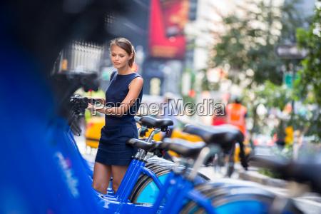 stadt fahrradverleih sharing pooling