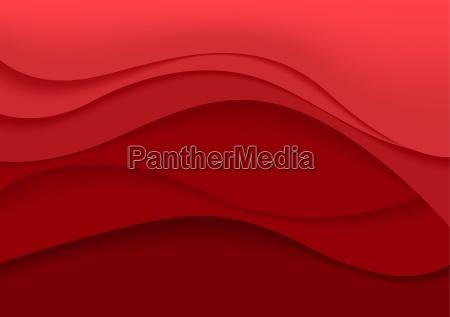 red zusammenfassung hintergrund mit kurven