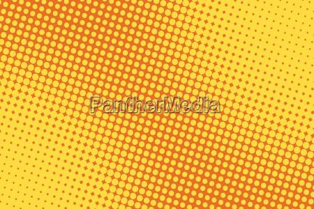 retro comic gelben hintergrund raster gradient