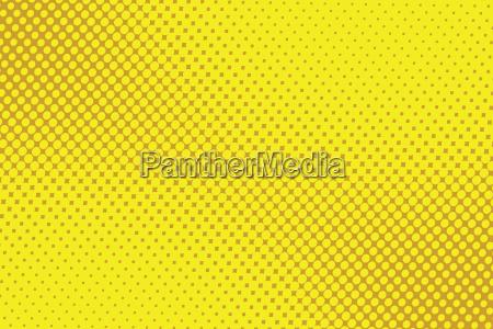 retro comic yellow background raster gradient