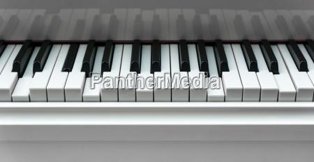 gedrueckte klaviertasten hintergrund