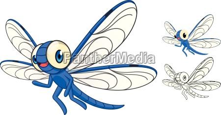 high quality detaillierte drachenflieger kartoon charakter