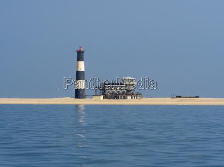 namibia erongo province walvis bay lighthouse