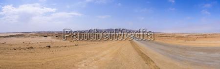 namibia coastal road between swakopmund and