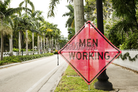 usa florida fort myers men working