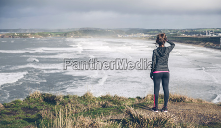 freizeit sport lebensstil strand blick blickend